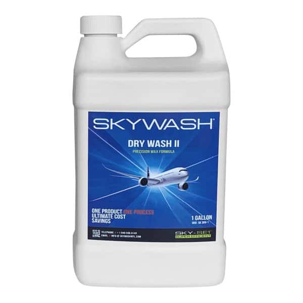 SKYWASH SK309-1 SKY-SE1 Drywash II Precision Wax Formula with Nano-Tech protection