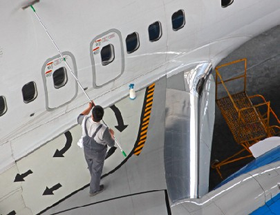Aviation cleaning products